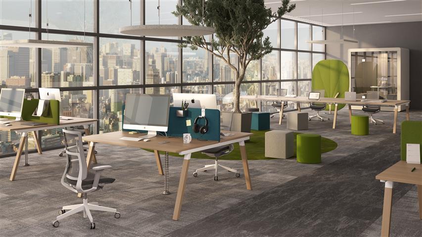 Mikomax Flexido A Schreibtisch 1800 x 800 mm  FLA-BN-704 3