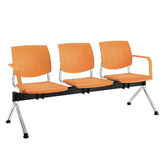 Sesta Wartebank Q44 3-Sitzer