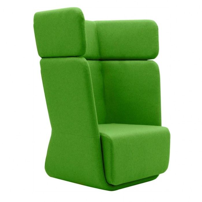 Softline Lounge Chair Basket Chair mit hoher Rückenlehne