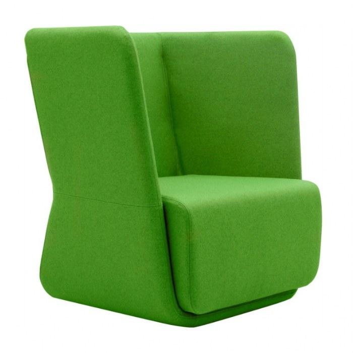 Softline Lounge Chair Basket Chair mit niedriger Rückenlehne