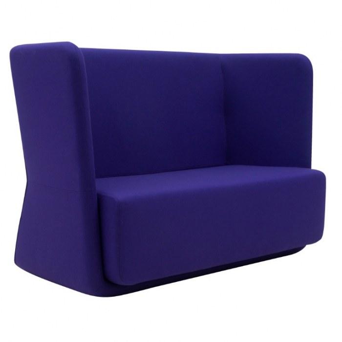 Softline Lounge Sofa Basket Sofa mit niedriger Rückenlehne