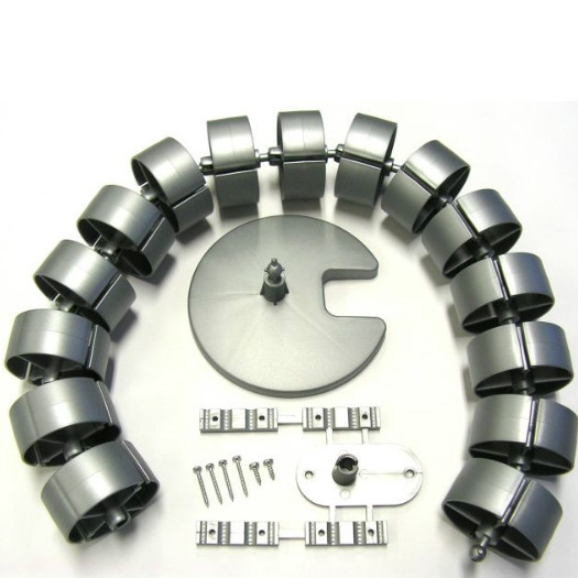 Kabelschlauch herum 750 mm