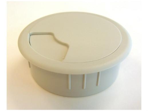 Kabeldurchlass  3-teilig Ø 60 mm hellgrau