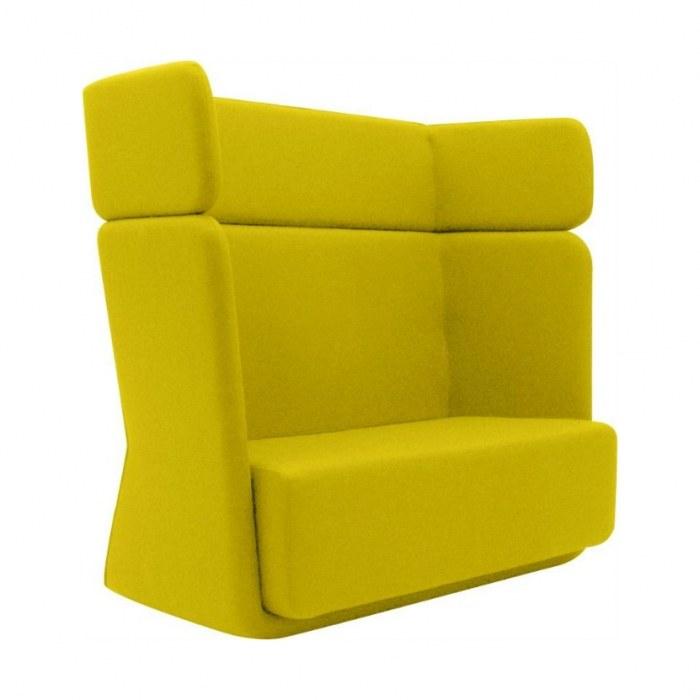 Softline Lounge Sofa Basket Sofa mit hoher Rückenlehne
