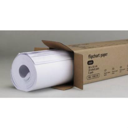 Geprüftes Flipchart-Papier, 20 Blatt à 5 Stück pro Karton