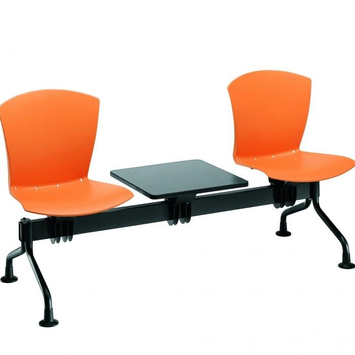 Sesta Wartesofa Carina 2-Sitzer mit Tisch