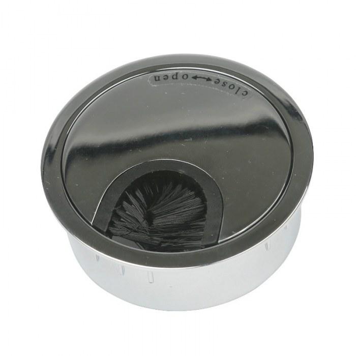Kabeleinführung Metall Ø 60 mm chrom glänzend