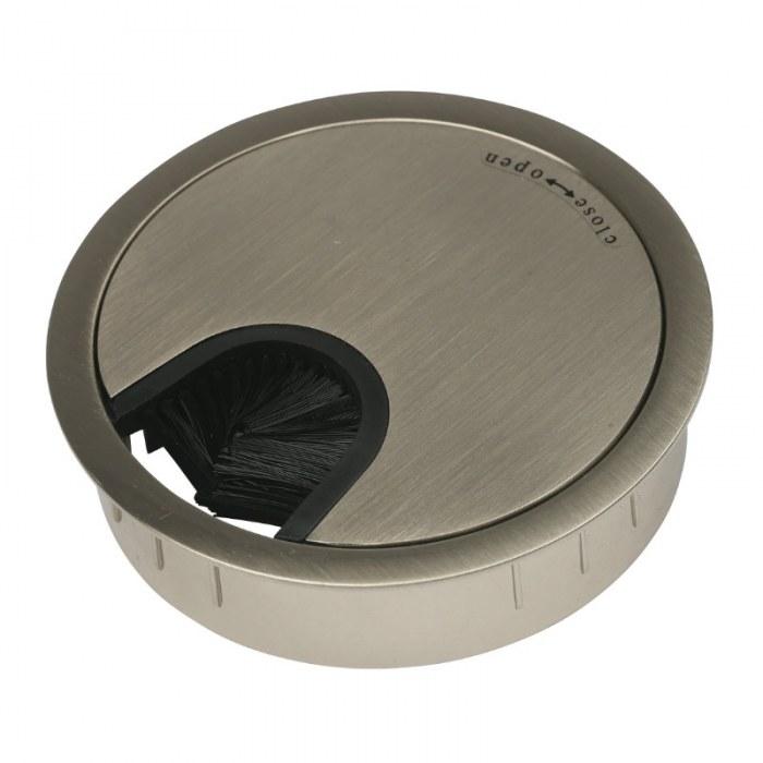 Kabeleinführung Metall Ø 80 mm Edelstahl optisch