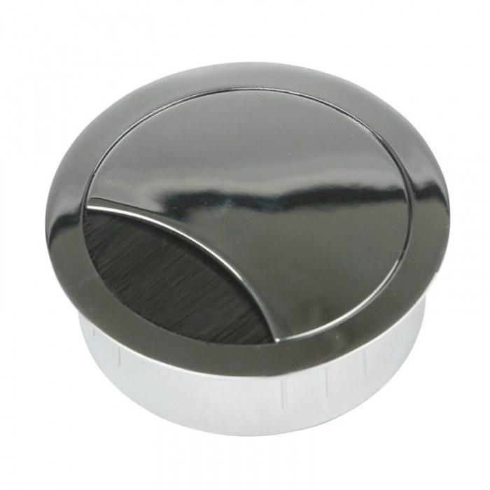 Kabeleinführung Metall Ø 60 mm verchromt poliert
