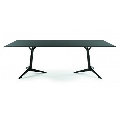 Viasit TRI Konferenztisch 200 x 100 cm Melaminplatte