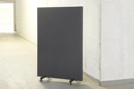 B-Move Akustische Trennwand mobil 100 x 160 x 5,8 cm