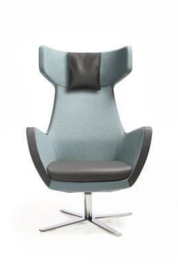 Bejot UMM UM 103 Lounge Sessel mit Kopfstütze