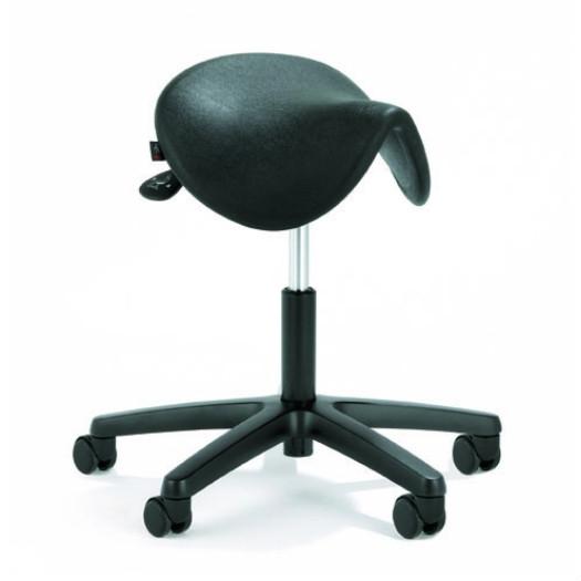 Sitzhocker Polyurethan schwarz