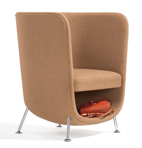 Bla Station Pocket O66 Lounge Sessel