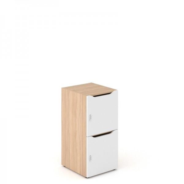 Narbutas Choice 2-türiger Schließfachschrank mit Postfach 450 x 500 x 917 mm