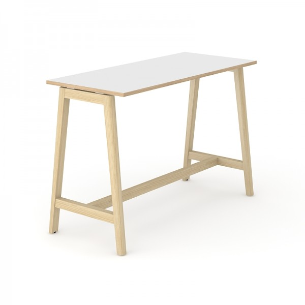 Narbutas Nova Wood hoher Konferenztisch 1600 x 700 x 1050 mm