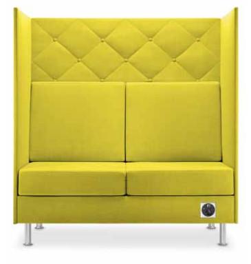 Dauphin Atelier Lounge Sofa 128 cm