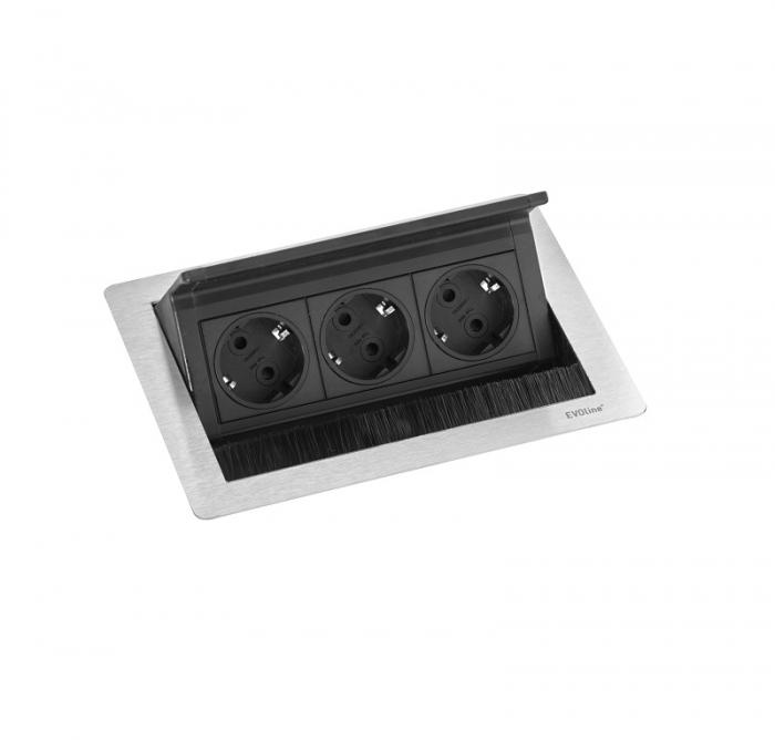 Evoline Powerbox Flip Top Push Small 3x Leistung