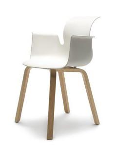 Flötotto Pro Chair Armlehnen mit Holzrahmen