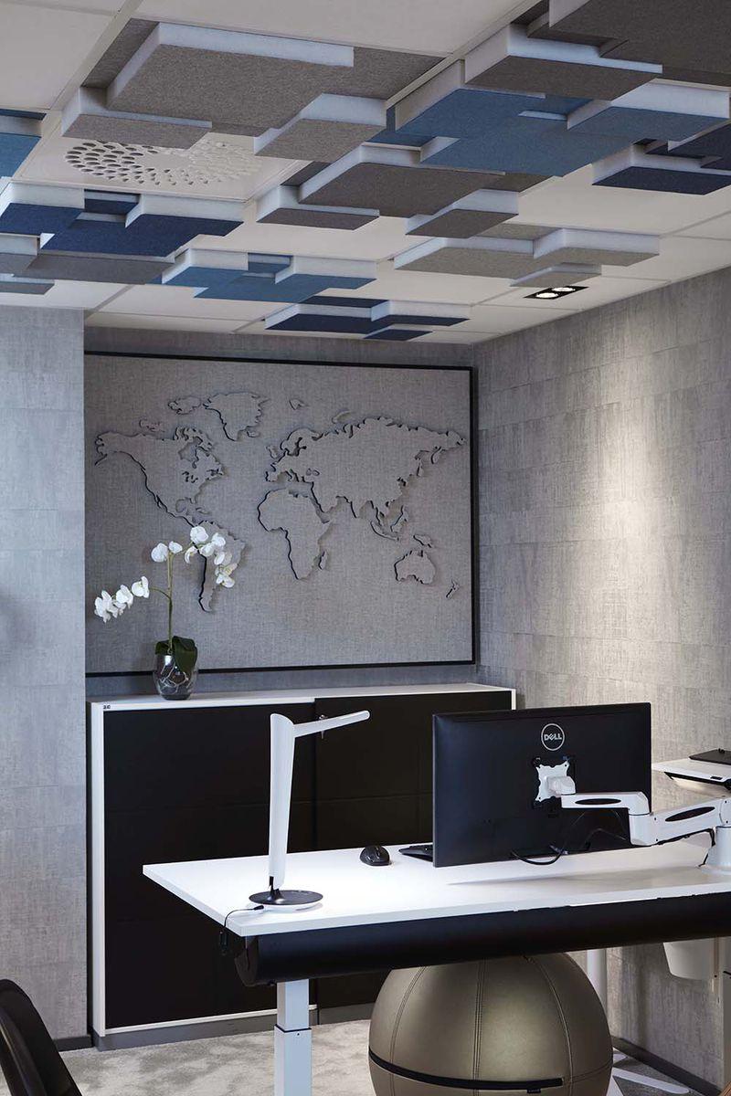 Gotessons Nivå Akustikdeckenplatte gepolstert 60 x 60 cm