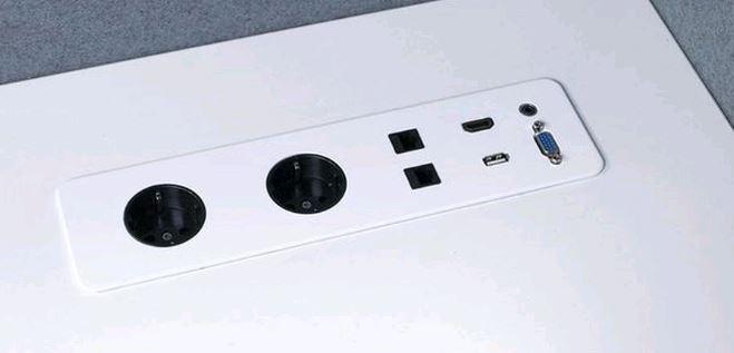 Gotessons Tischplatte SLIM 2P2D1U1H1A