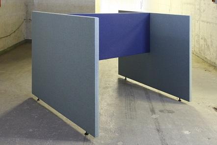 Akustische Trennwand B-MoVe H Anordnung 1800 mm