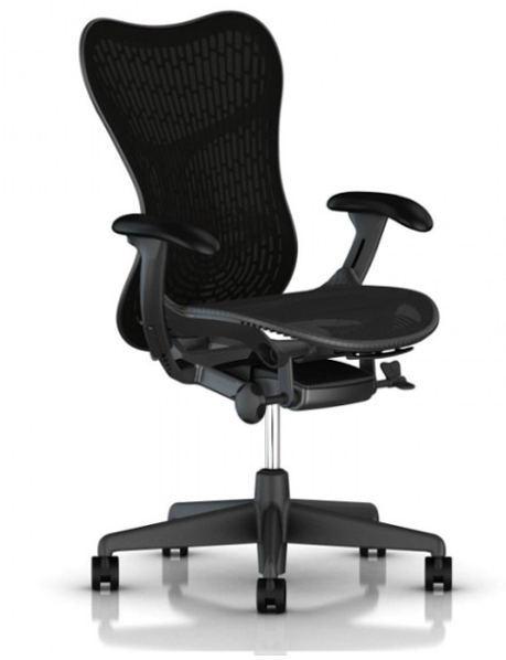 Herman Miller Mirra 2 Bürostuhl MRF133 mit gepolsterter Rückenlehne