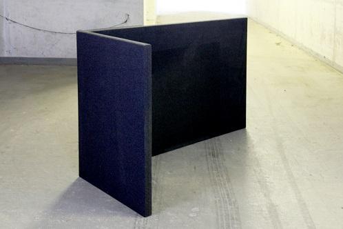 B-MoVe L-förmige akustische Trennwand links 1600 mm