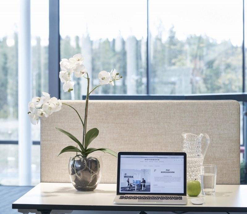 Götessons Orchidee inkl. Glastopf H650mm Kunstpflanze