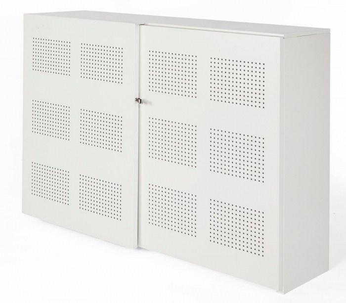 NPO Schallschiebetürenschrank 120 x 160 x 46 cm