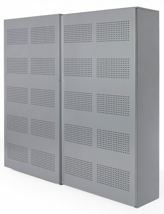 NPO Schallschiebetürenschrank 192 x 160 x 46 cm