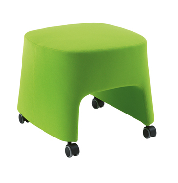 Sesta Blog T-Tub Loungesessel auf Rädern