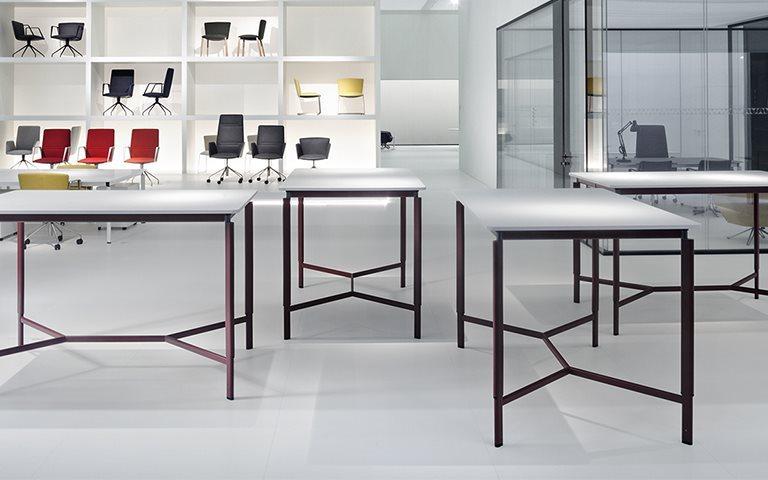 Tecno Clavis Konferenztisch Höhe 160 x 100 cm