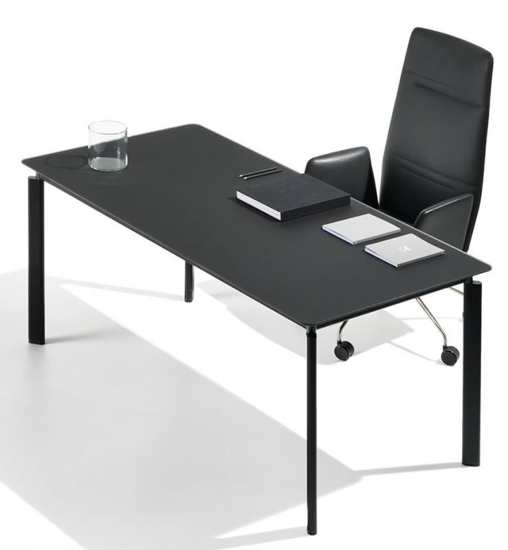 Tecno Clavis Schreibtisch Tisch 140 x 80 cm