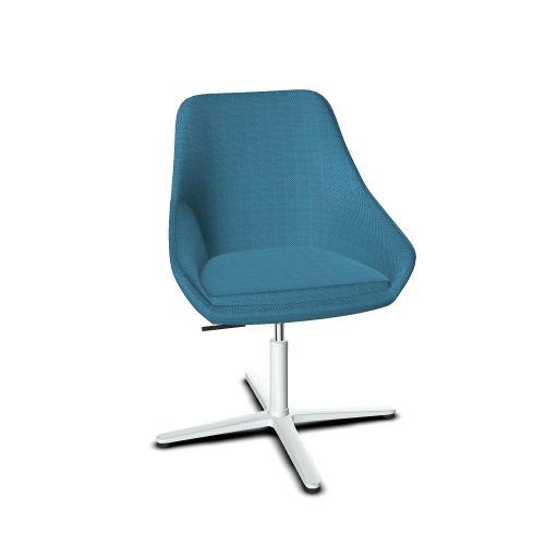 Viasit Calyx Lounge Sessel mit gekreuzten Beinen