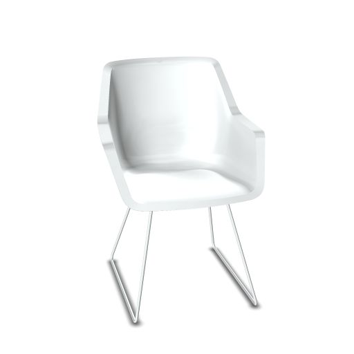 Viasit Repend Lounge Chair Kufengestell
