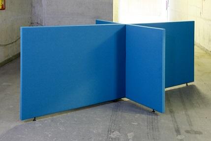 Akustische Trennwand B-MoVe X Anordnung 1600 mm