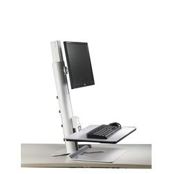 Sit-Stand Workstation für einen Monitor