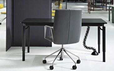 Tecno Clavis Schreibtisch Tisch 140 x 80 cm  1CV0100MM 2